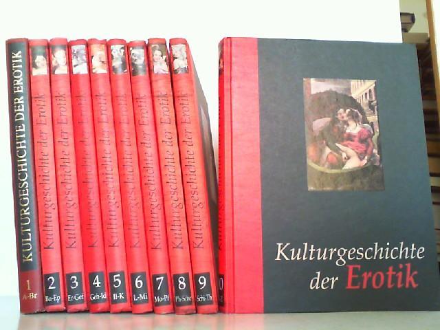 Kulturgeschichte der Erotik. Hier 10 Bände komplett!: Uhse Verlag: