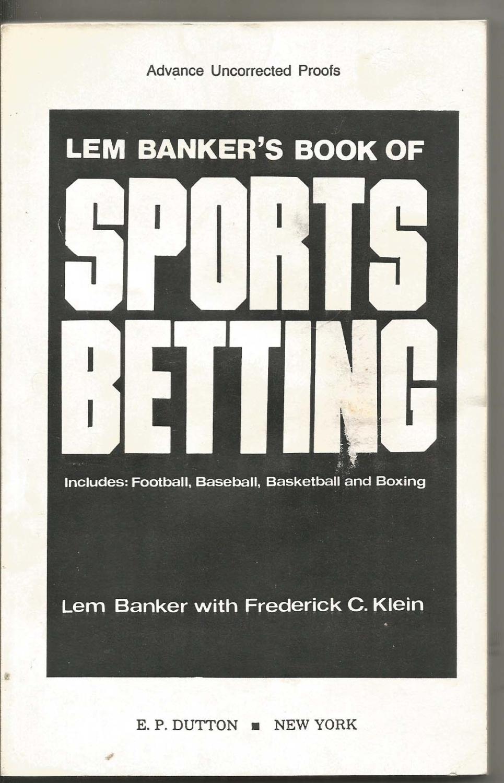 Lem banker sports betting book chiefs titans betting