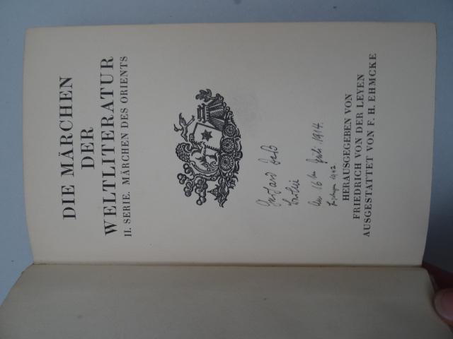 Übers.). Chinesische Volksmärchen. Jena, Diederichs, 1914. 2: Wilhelm, R.