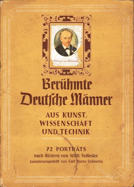Berühmte Deutsche Männer aus Kunst, Wissenschaft und: Buck Eierteigwaren, (Mengen-Ennetach),