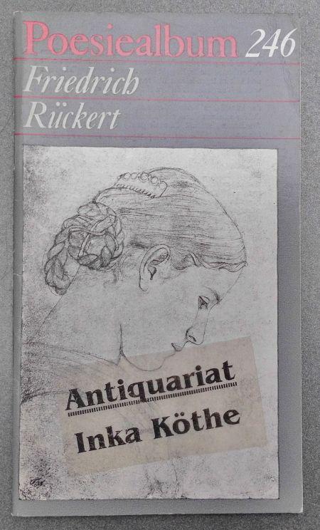 Poesiealbum 246 - Friedrich Rückert - Grafik: Rückert, Friedrich: