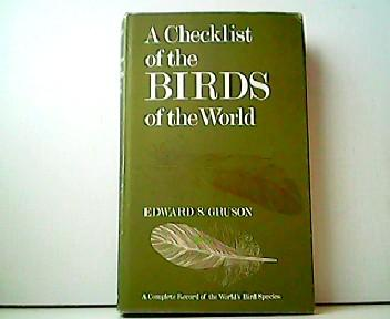 Checklist of the Birds of the World: Edward S. Grusson