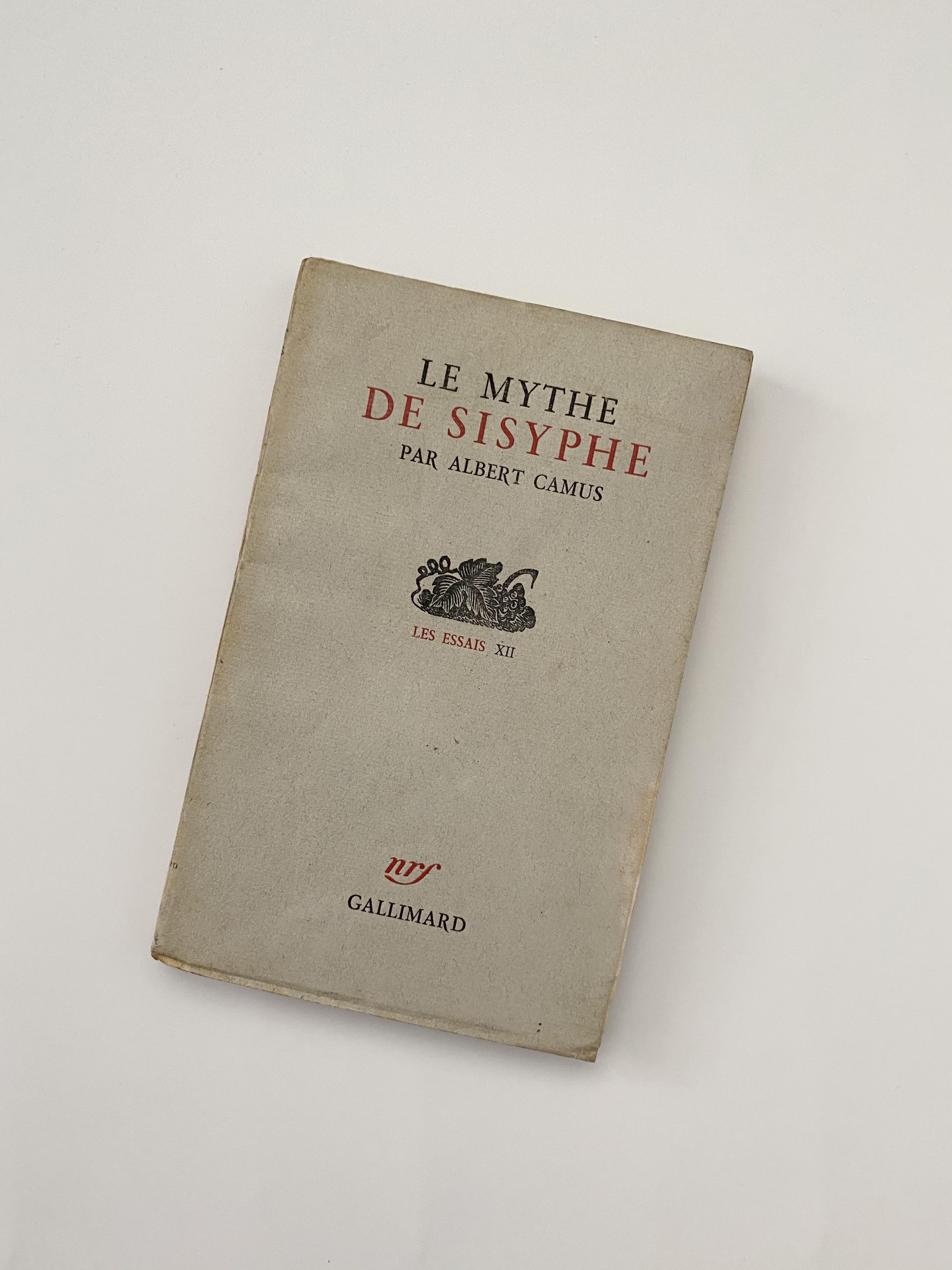 Sissyphus myth of Camus's The