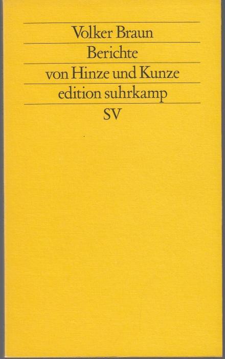 Stücke 1. Stücke 2 (zwei Bände): Braun, Volker