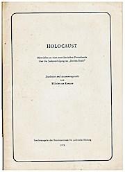 Holocaust : Materialien zu e. amerikan. Fernsehserie: Wilhelm van Kampen