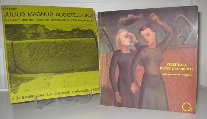 2 Bände: Julius-Magnus-Ausstellung. Zur Geschichte der jüdischen: Harck, Ole und