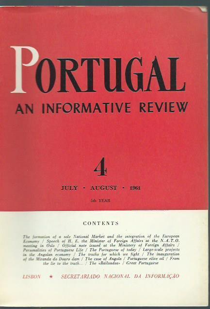 Portugal. 5th year. Heft 4 / July,: Portugal. -
