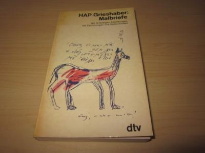 Malbriefe: HAP Grieshaber