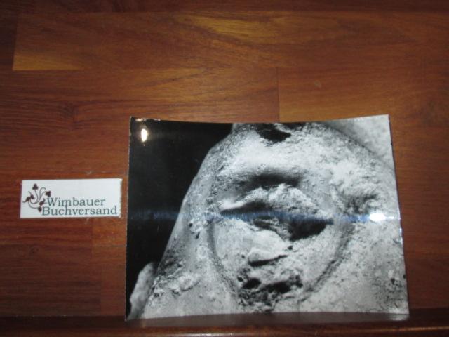 Originalphoto, Detail einer Büste oder Statue: Deutsches Archäologisches Institut