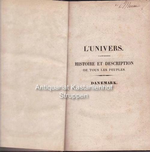 Danemark. L'univers. Histoire et description de tous: Eyries, M. J.