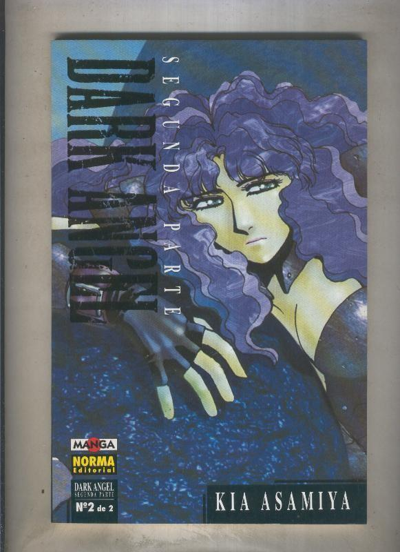 Dark Angel volumen 2 numero 2 (numerado 2 en interior cubierta) - Kia Asamiya