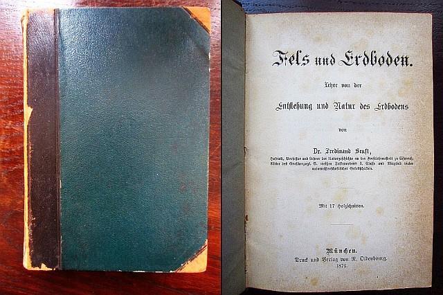 Fels und Erdboden. Lehre von der Entstehung: Senft, Ferdinand