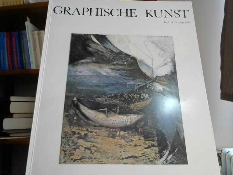Graphische Kunst Heft 34. 1. Heft 1990: Visel, Curt (Hrsg.):