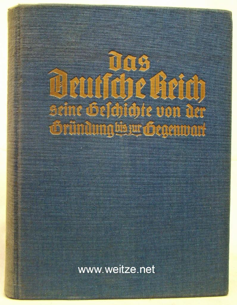 Das Deutsche Reich - Seine Geschichte von: Hoppenstedt, J.,: