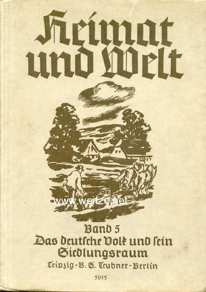 Heimat und Welt. Band 5: Das Deutsche: Griep, Kurt,: