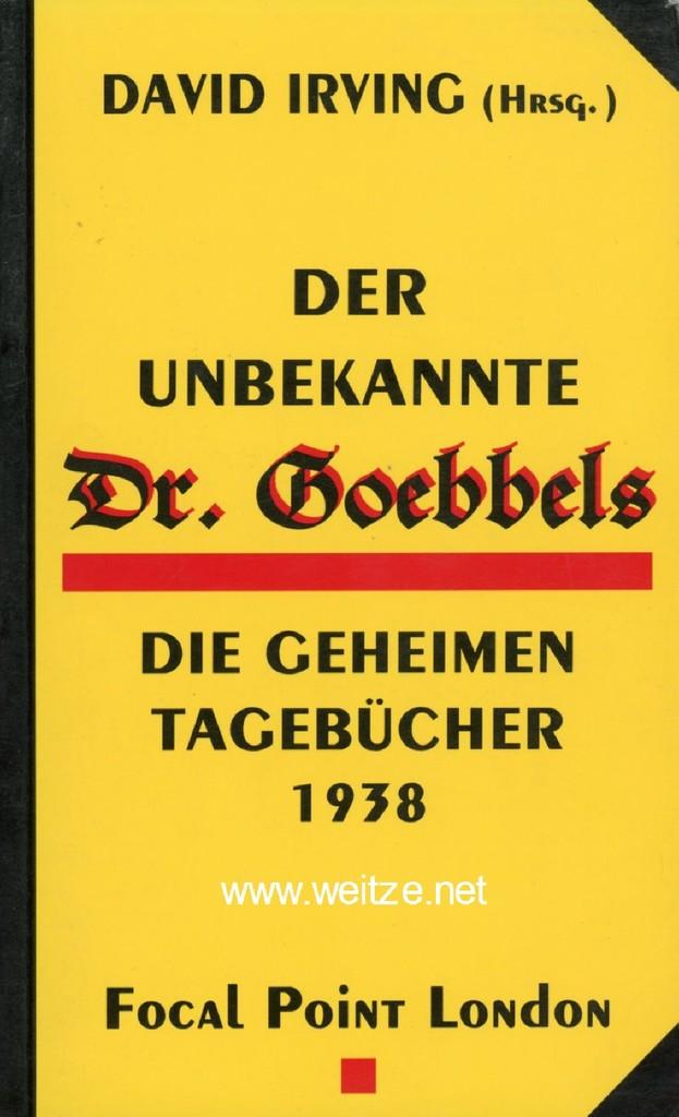 Der unbekannte Dr. Goebbels,: Irving, D. (Herausg.),: