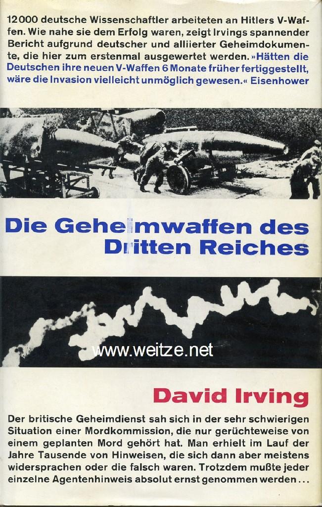 Die Geheimwaffen des Dritten Reiches,: Irving, D.,: