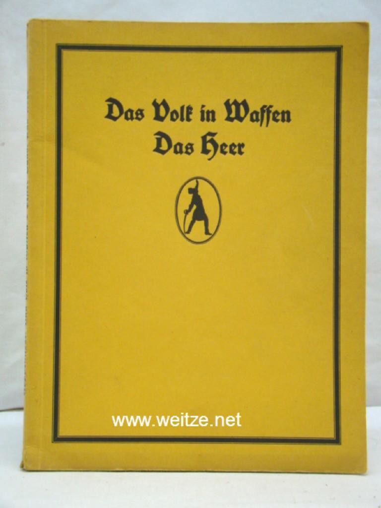 Das Volk in Waffen - Erster Band: Hoppenstedt, J. (Herausgeber),: