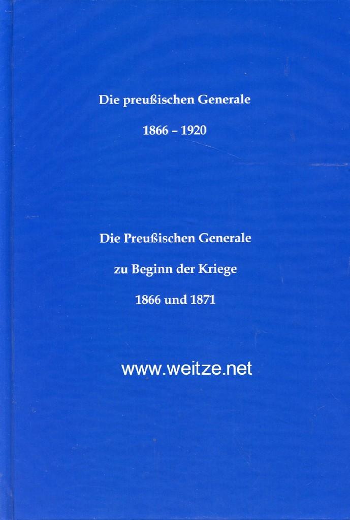 Die Preußischen Generale 1866 - 1920 -: Zweng, Christian: