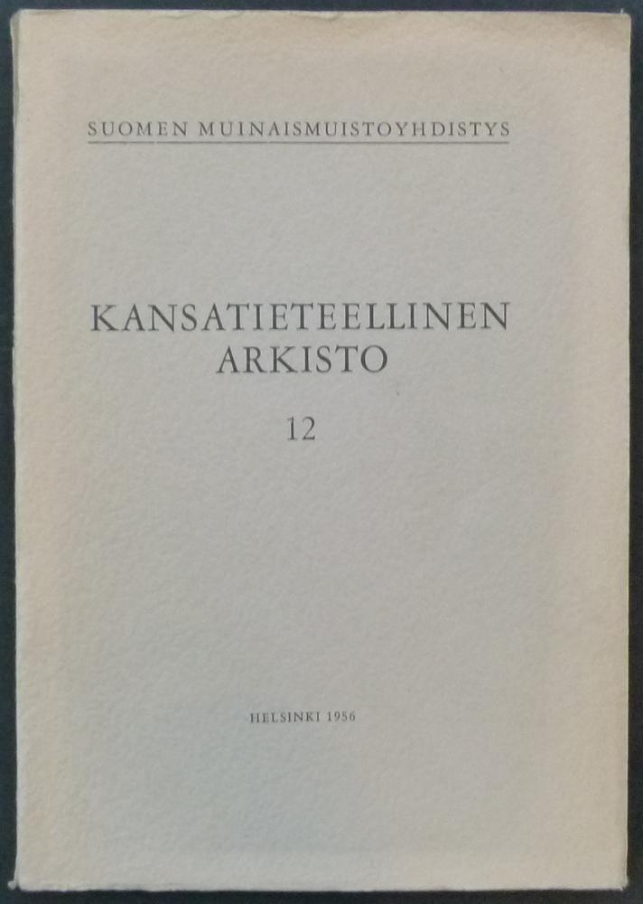 Die Polska-Tänze in Finnland. Eine ethno-musikologische Untersuchung.: Ala-Könni, Erkki.