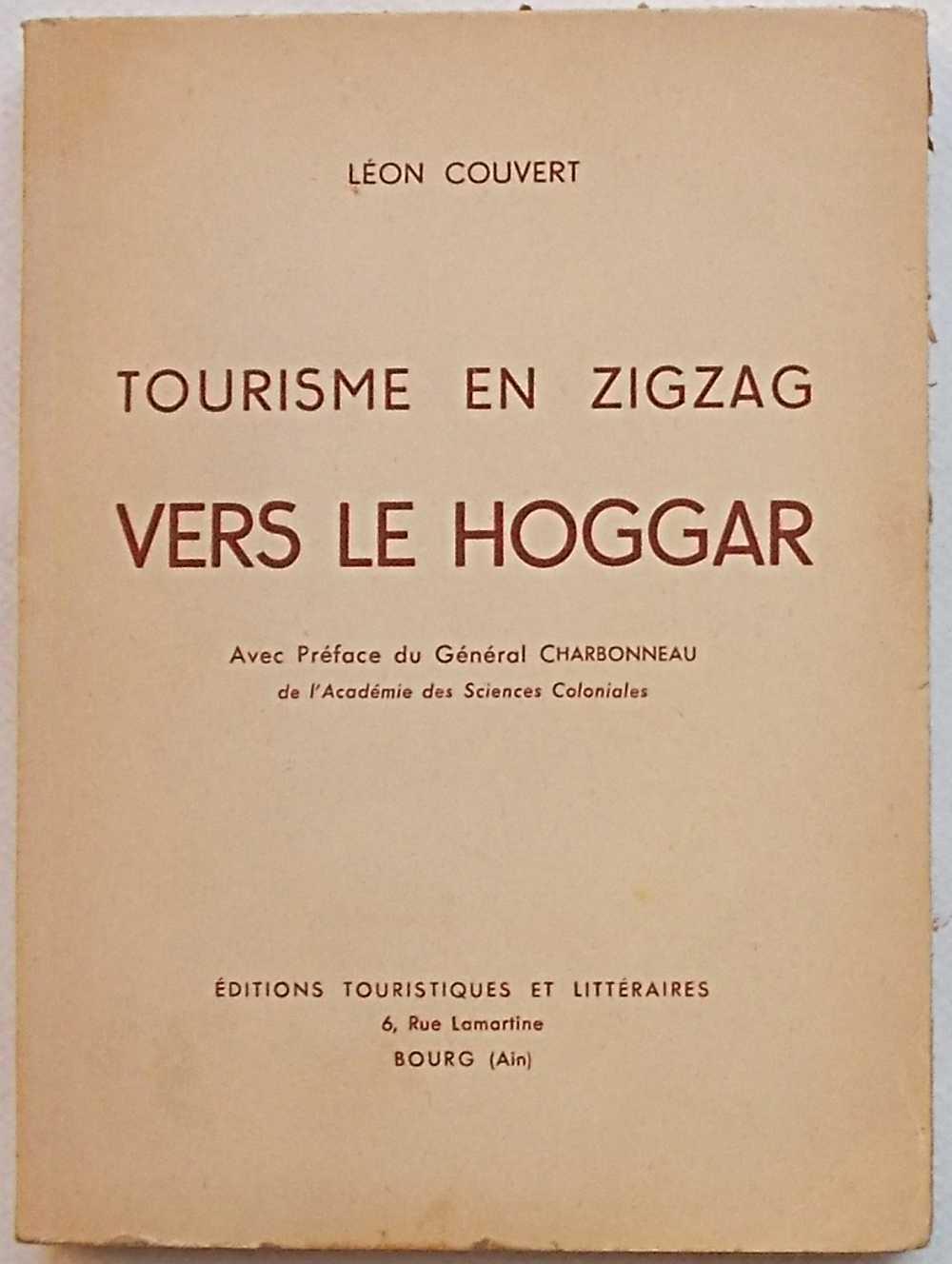 Tourisme en zigzag vers le Hoggar.: COUVERT LEON