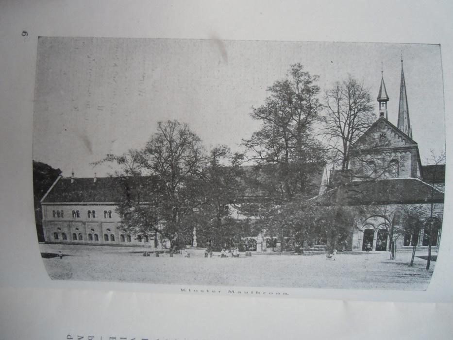 Führer durch das Kloster Maulbronn um 1900?: Bassler: