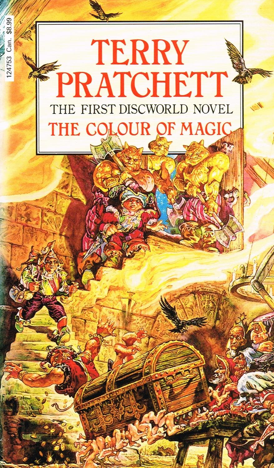 The Colour Of Magic The First Discworld Novel By Sir Terry Pratchett New Soft Cover 1985 Sapphire Books