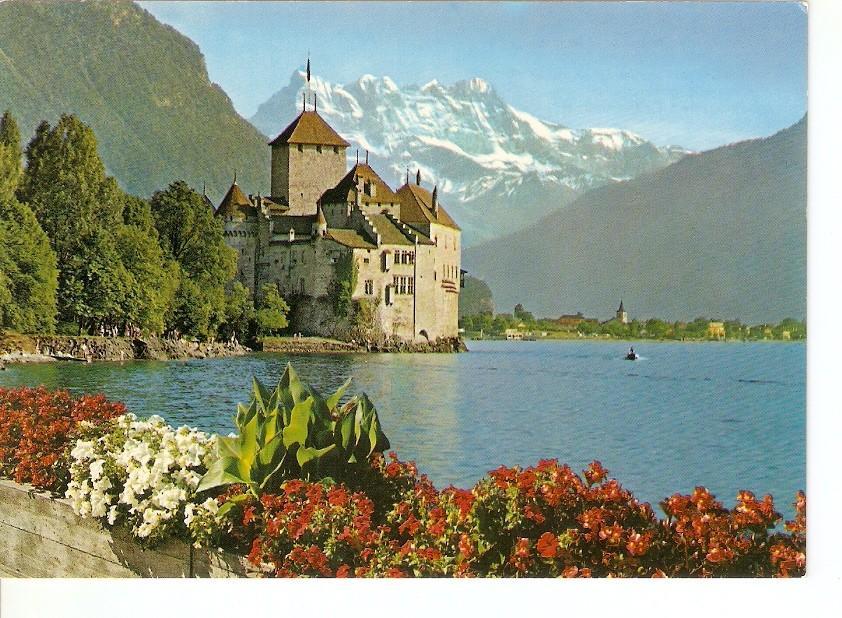 Postal 029461 : Le Château de Chillon pres Montreux