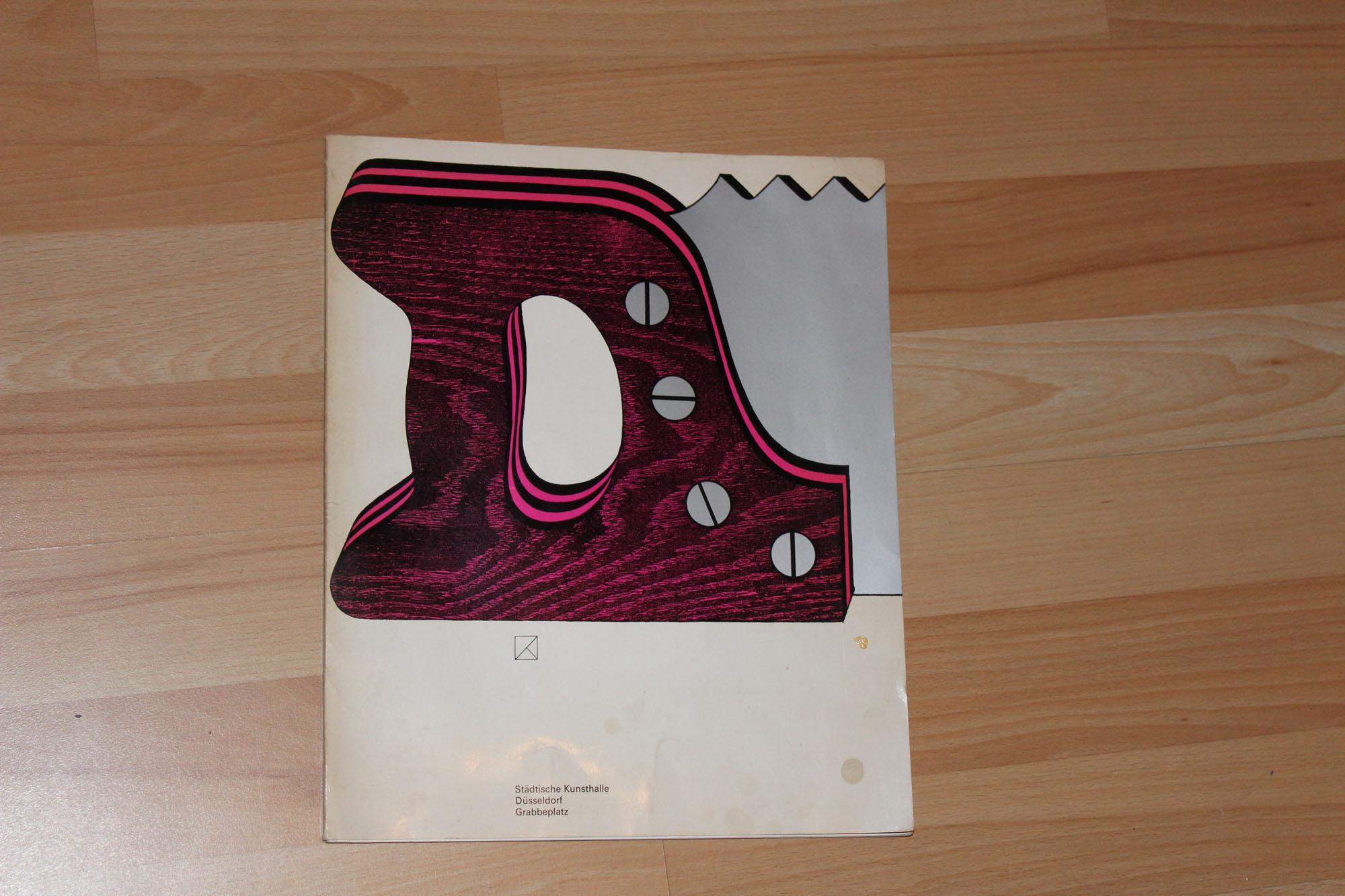 Claes Oldenburg - Städtische Kunsthalle Düsseldorf Grabbeplatz.: Oldenburg, Claes):