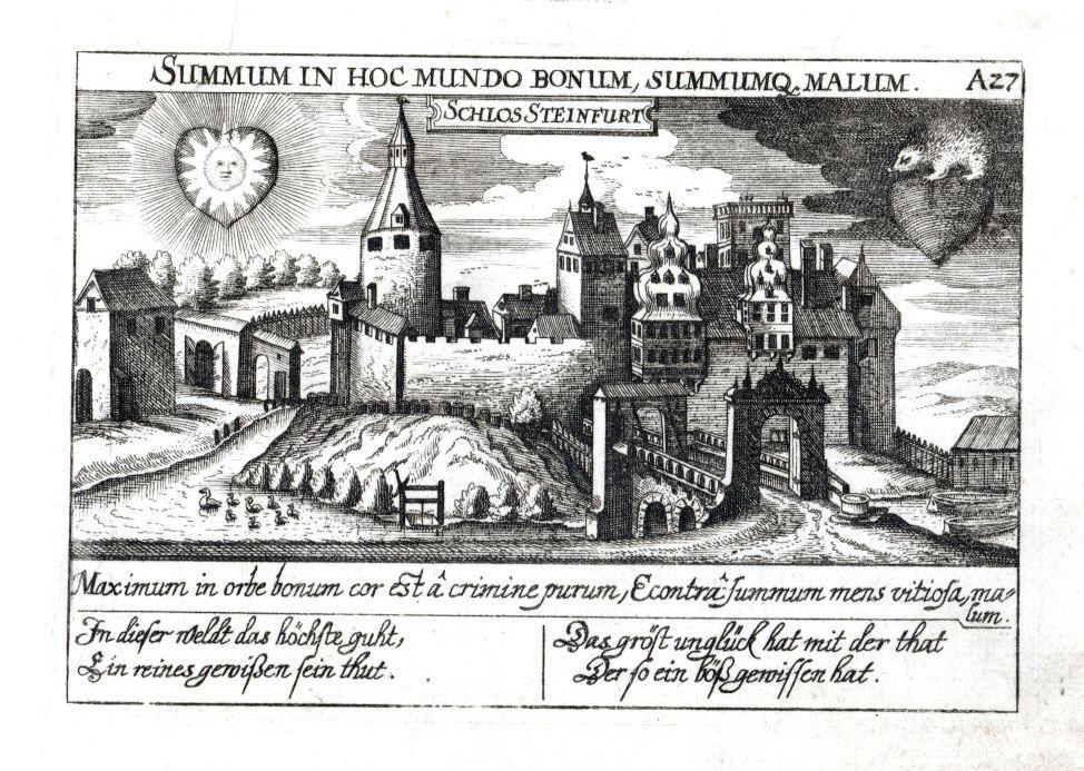 Schlos Steinfurt. Schloß Burgsteinfurt.: Steinfurt