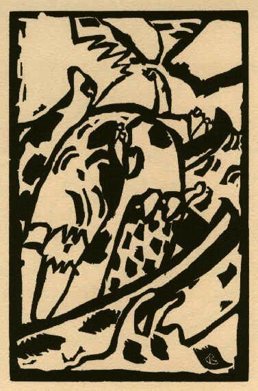 Abstrakte Komposition. (Improvisation): Kandinsky, Wassily