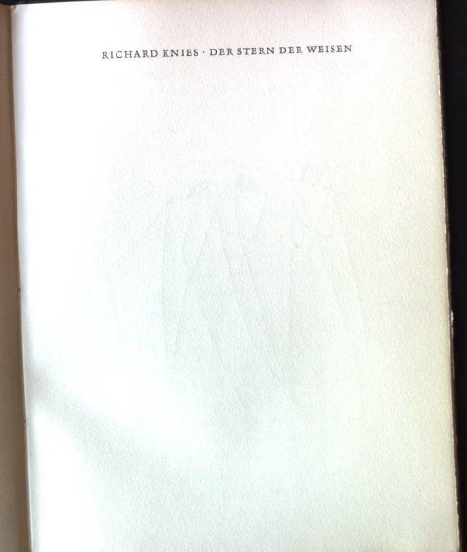 Der Stern der Weisen: Knies, Richard: