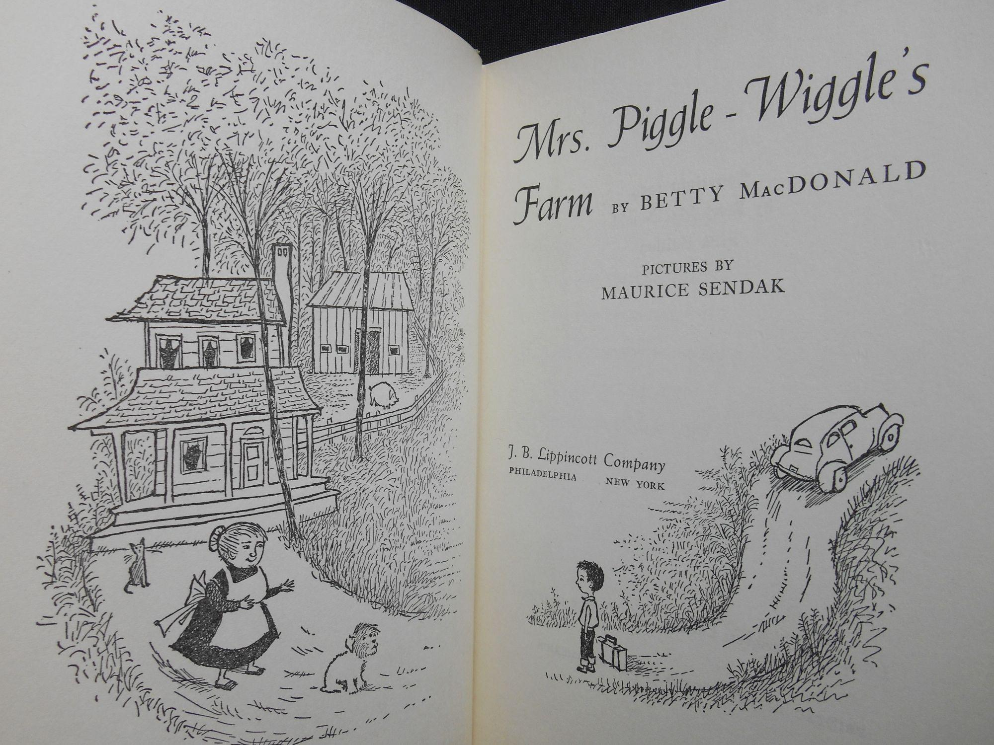 Macdonald Mrs Piggle Wiggle First Edition Seller Supplied Images Abebooks