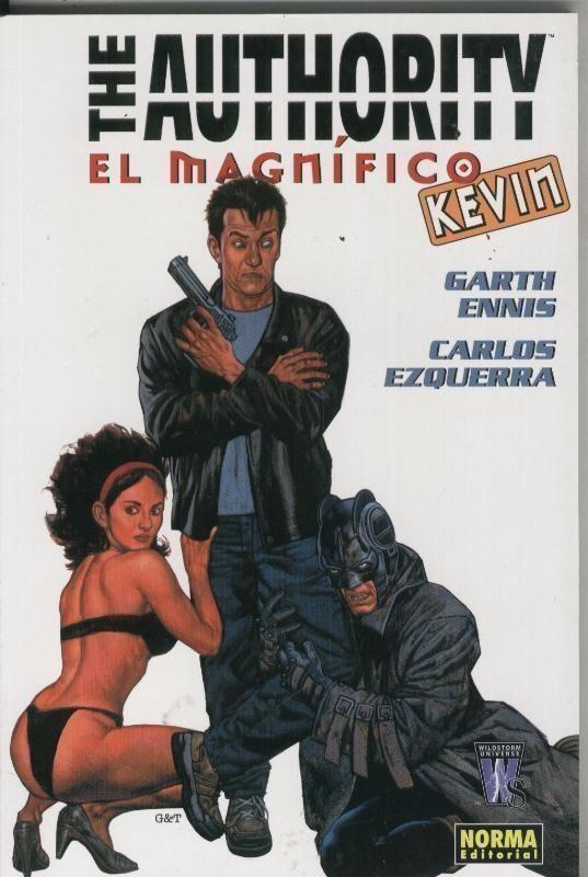 The Authority: El magnifico Kevin - Garth Ennis-Carlos Ezquerra
