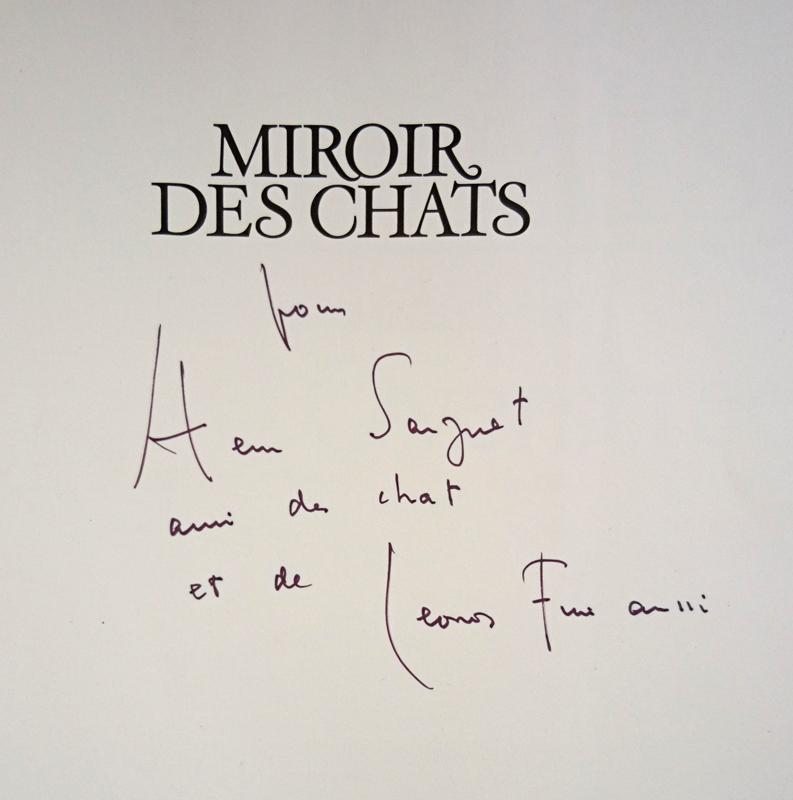 Miroir des chats. - FINI (Leonor) – OVERSTREET (Richard)