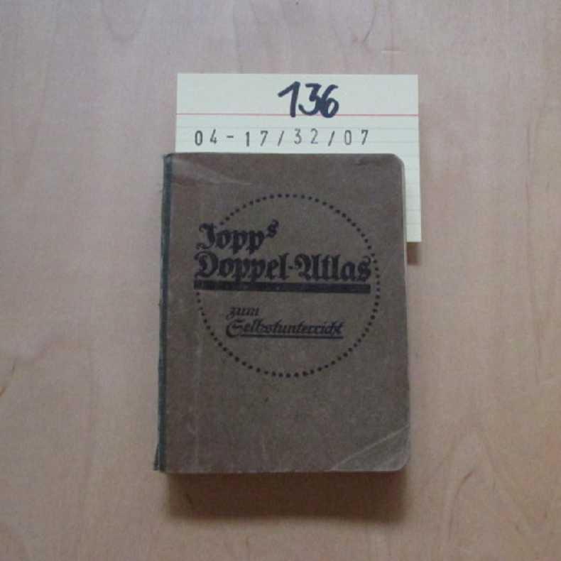 Jopps Doppel-Atlas zum Selbstunterricht: Jopp, Mar: