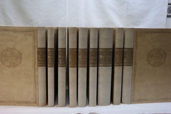 Theatrum machinarum. (10 Bände in 9 Bänden: Leupold, Jacob:
