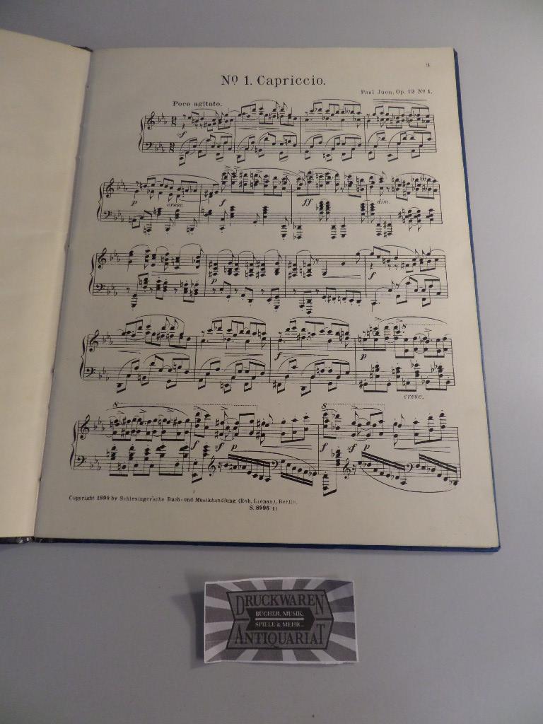 Paul Juon - Op. 12 : Sechs: Juon, Paul: