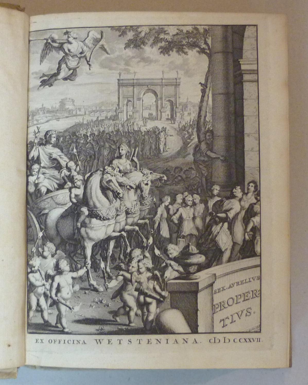 Sex. Aurelii Propertii elegiarum libri quatuor, Ad: Altphilologie - Propertius,