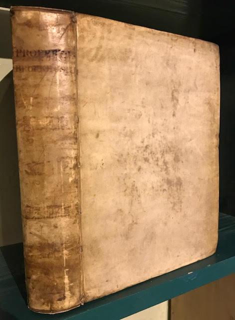 Sex. Aurelii Propertii Elegiarum libri quatuor, Ad: Sextus Aurelius Propertius
