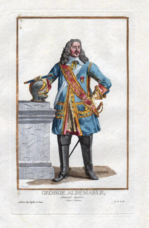"George Albemarle"" - George Monck Duke of: Duflos le Jeune,"