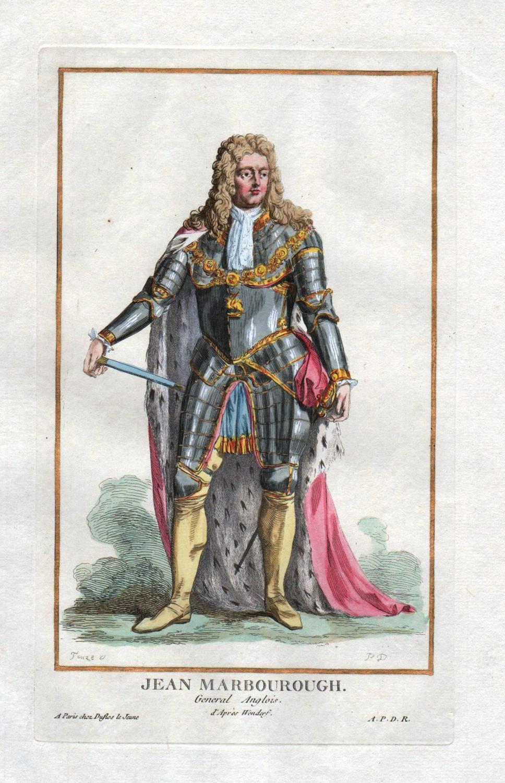 "Jean Marbourough"" - John Churchill Duke of: Duflos le Jeune,"
