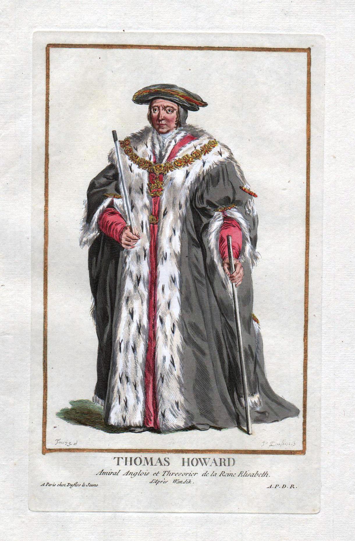 """Thomas Howard"""" - Thomas Howard Earl of: Duflos le Jeune,"""