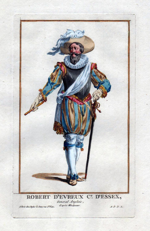 "Robert d'Evreux Ct. D'Essex"" - Robert Devereux: Duflos le Jeune,"