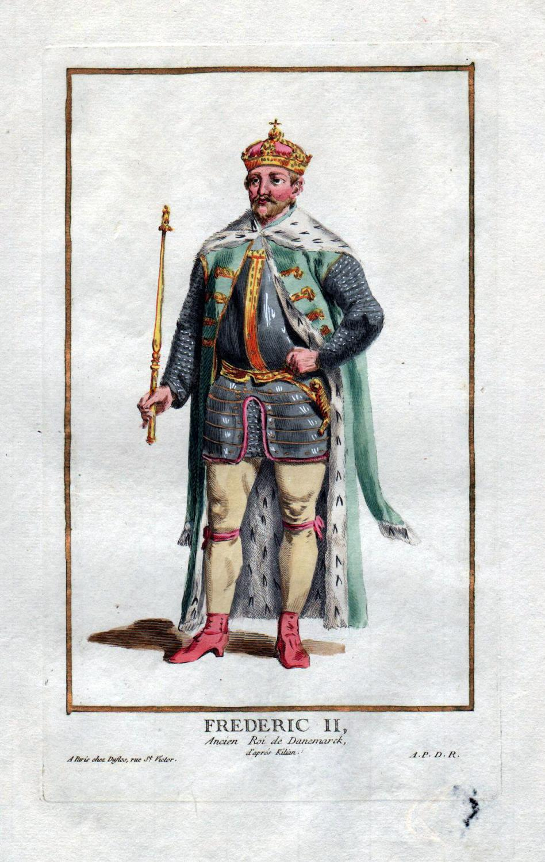 "Frederic II Ancien Roi de Danemarck"" -: Duflos le Jeune,"
