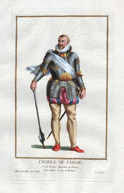 """Charle de Cosse"""" - Charles I de: Duflos le Jeune,"""