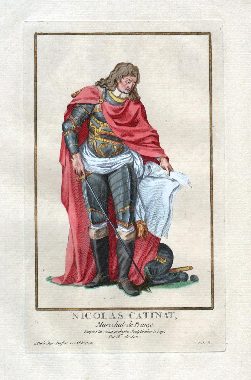 """Nicolas Catinat Marechal de France"""" - Nicolas: Duflos le Jeune,"""