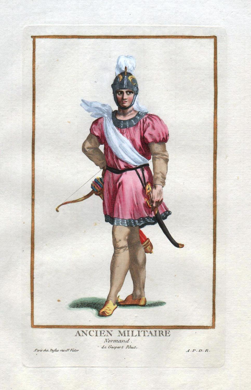 """Ancien Militaire Normand"""" - Normandie France Militaria: Duflos le Jeune,"""