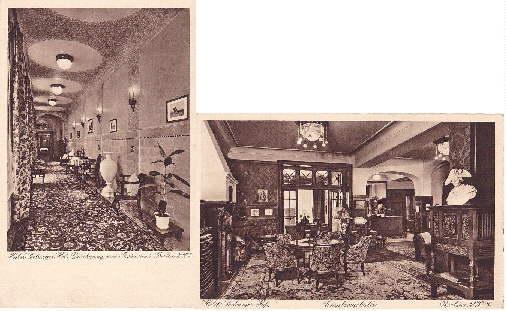 Hotel Coburger Hof, Eigentümer : Ewald Kretschmar,: Berlin -