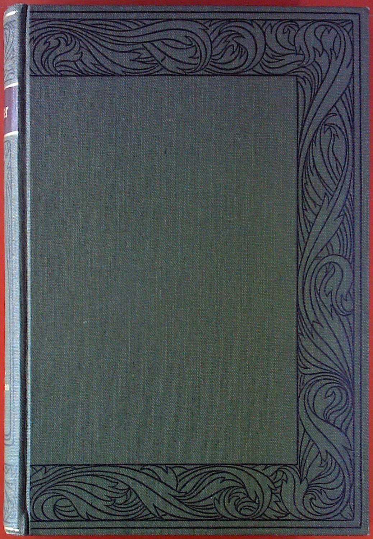 Schillers Werke. Erster Band: Übersetzungen fremder Trauerspiele.: Hrsg. Ludwig Bellermann